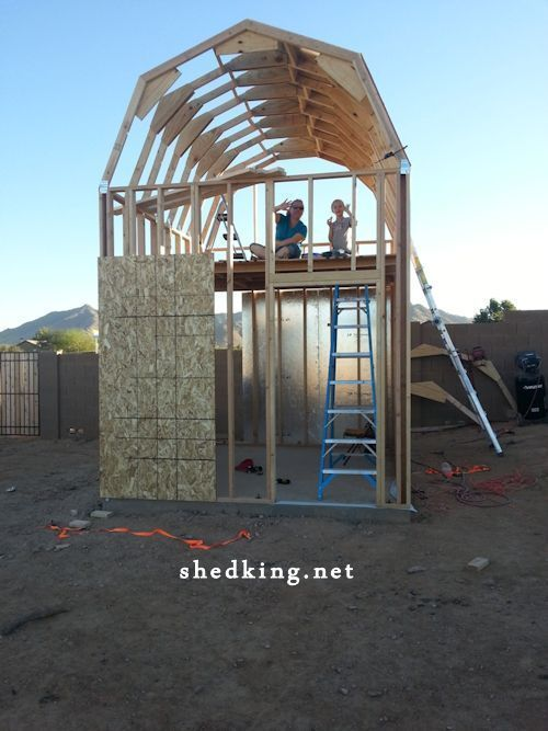 25 Best Ideas About Shed With Loft On Pinterest Cabin