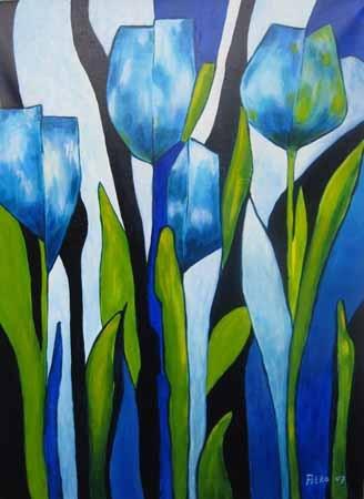 abstracte tulp - Bing Afbeeldingen