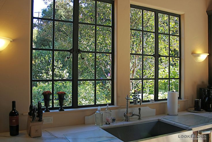 I could wash dishes all day looking out those windows.