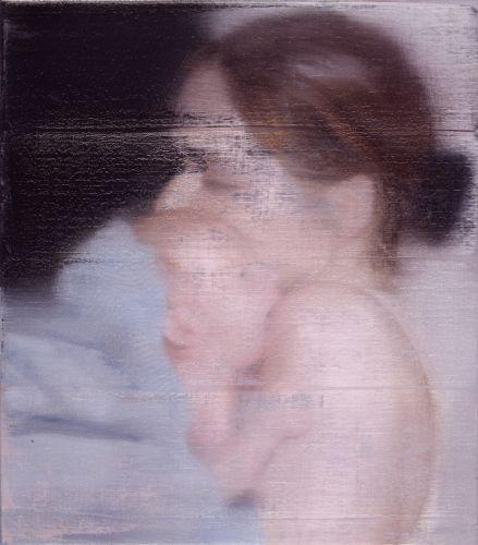 아이를 안고 있는 에스(S. with Child) - 게르하르트 리히터  1995년경. 함부르크 시립미술관.  자신의 갓 태어난 아이와 아내를 그린 8점의 연작 중 하나입니다. 리히터 특유의 흐릿한 실사적 기법을 보여줍니다. 이 구도는 그가 '성모자'라는 종교적 모티프를 재현하고 있음을 알 수 있습니다. 그림 자체에서 둘을 향한 남편이자 아빠의 따뜻한 시선이 나타나는 듯 합니다.