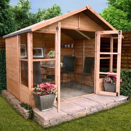 Relaxed Garden Summer House: 25+ Best Ideas About Sheds Direct On Pinterest