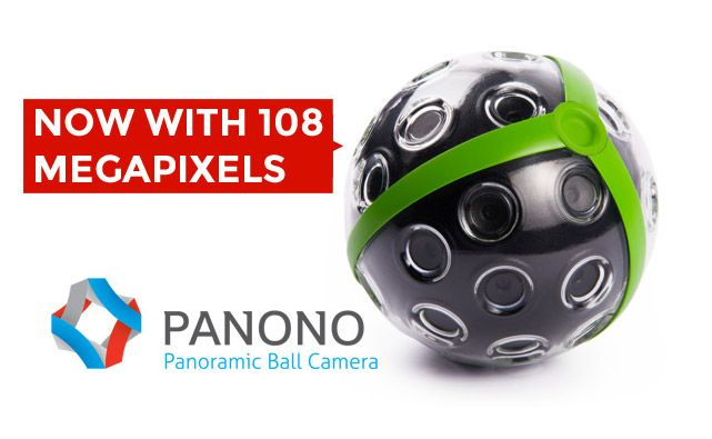 "Available to pre-order now, the Panono Camera is the perfect solution to unique 360 degree views of any environment. Just throw the ball up in the air and, at it's highest point the Panono will use it's accelerometer and its 36 cameras to capture everything in every direction, saving the result as very high res (108 megapixel!!) ""printable, zoomable and incredibly detailed"" 360° images."