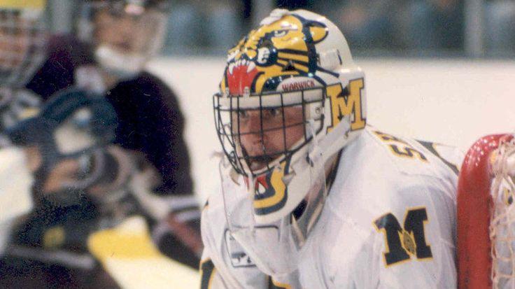 Michigan Hockey Steve Shields Mask