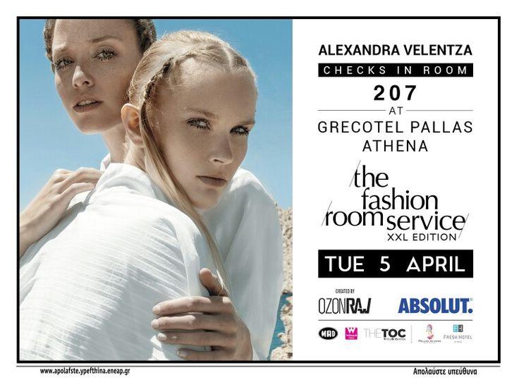 Join us! #thefashionroomservice #alexandravelentza #hotel #event