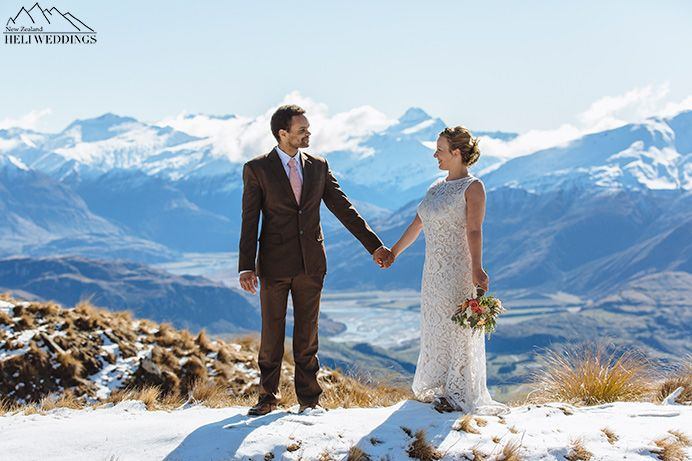 Heli Wedding, Coromandel Peak Wedding, Wanaka Wedding, Snow Wedding
