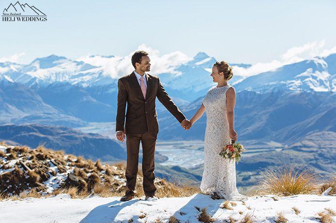 Heli Wedding, Coromandel Peak Wedding, Wanaka Wedding, Snow Wedding
