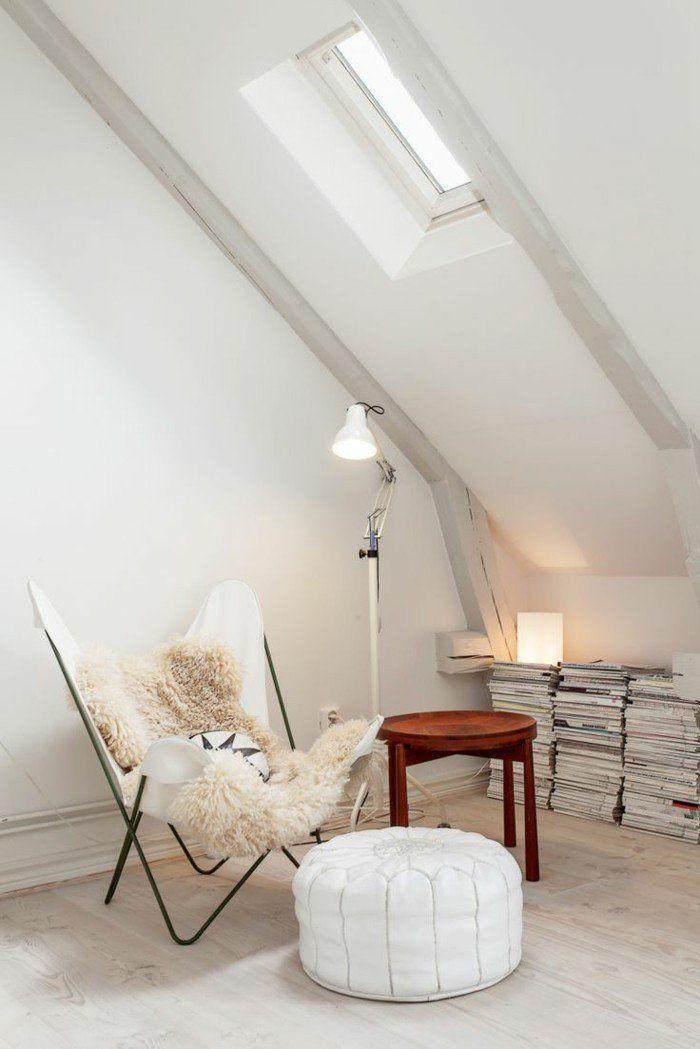 fauteuil club ikea en cuir blanc chaise butterfly dans le. Black Bedroom Furniture Sets. Home Design Ideas