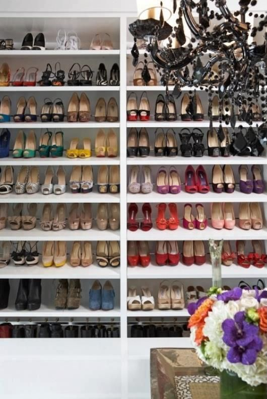 DIY Shoe Storage Ideas Closet DesignsHeavensWalk