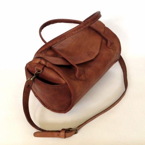 Ilundi leather baby bag - hand stitched