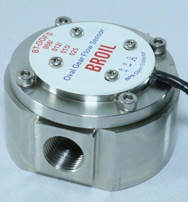oval gear flow sensor