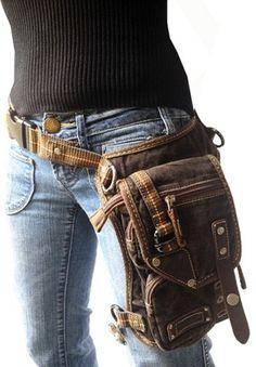 C3 Joker - Motorcycle Bag-Hiking Bag-Hip Bag-Messenger Bag-Thigh Bag-Holster Bag