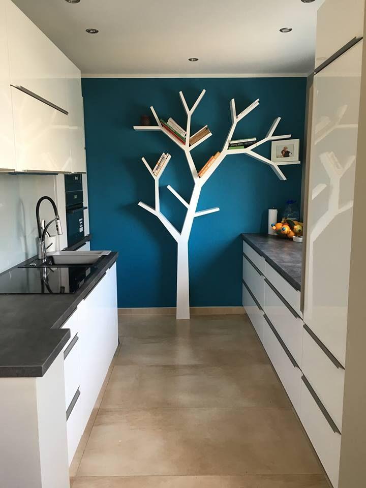 Półka jak drzewo 210x160x16cm  Nasza realizacja