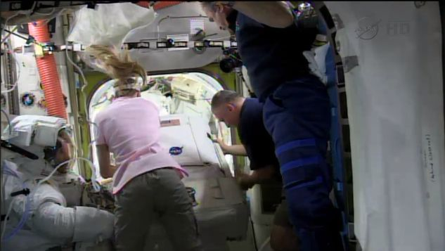 chris nyberg astronaut - photo #11