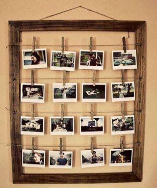 pedemos reciclar marcos de cuadros, espejos o hacerlo con pocos materiales!!