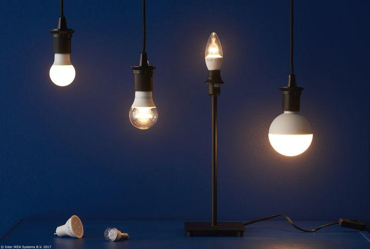 SÖdersvik Led Ceiling Lamp Ikea: RYET LED žarulja E27 400 Lm, Kuglasto Opalno Bijela