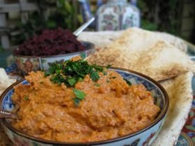 Muhammara – Roasted Red Pepper and Walnut Paste Recipe The Blender Girl - CHOW.com