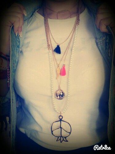Handmade beacklace!