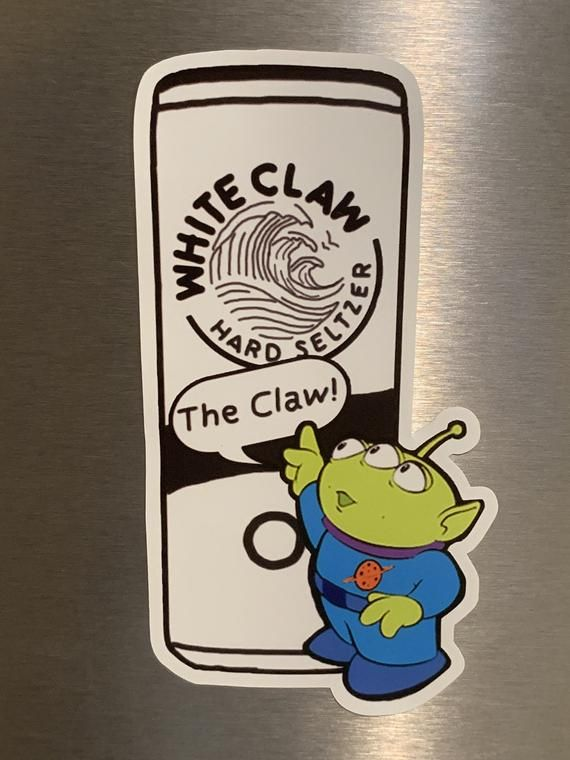 The White Claw - Toy Story Meme - White Claw Hard Seltzer
