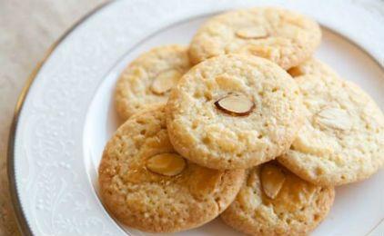 Μπισκότα αμυγδάλου χωρίς γλουτένη