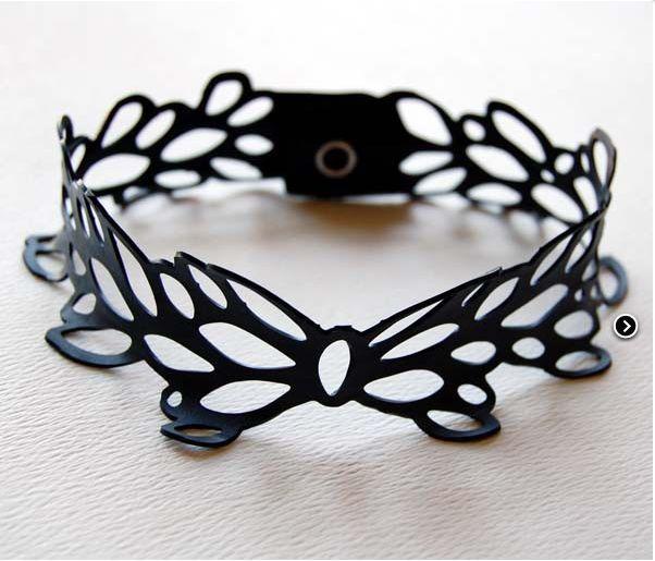Urban Lace Bicycle Innertube Bracelette