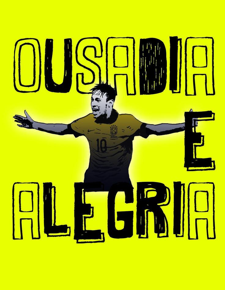 Camiseta Ousadia e Alegria R 49,90 e frete grátis http