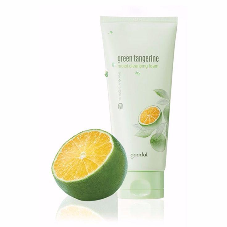 Goodal Green Tangerine Moist Cleansing Foam 170ml #Goodal