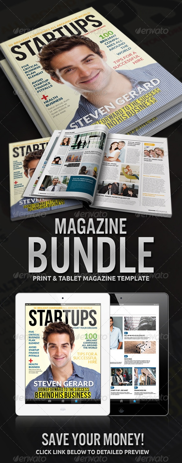 Magazine Bundle, save your money