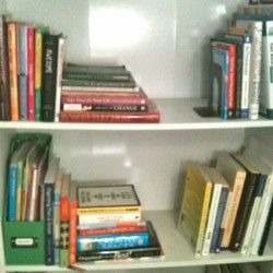 How to organize your books!
