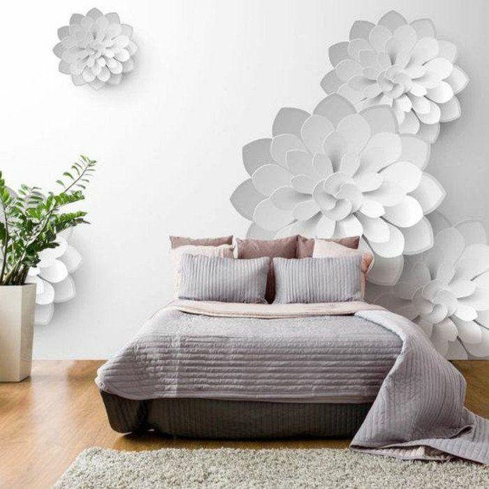 comment transformer une chambre à coucher classique à l'aide d'une tapisserie 3D