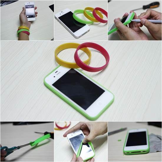 How to Make Easy DIY iPhone Bumper Case | iCreativeIdeas.com Like Us on Facebook == https://www.facebook.com/icreativeideas