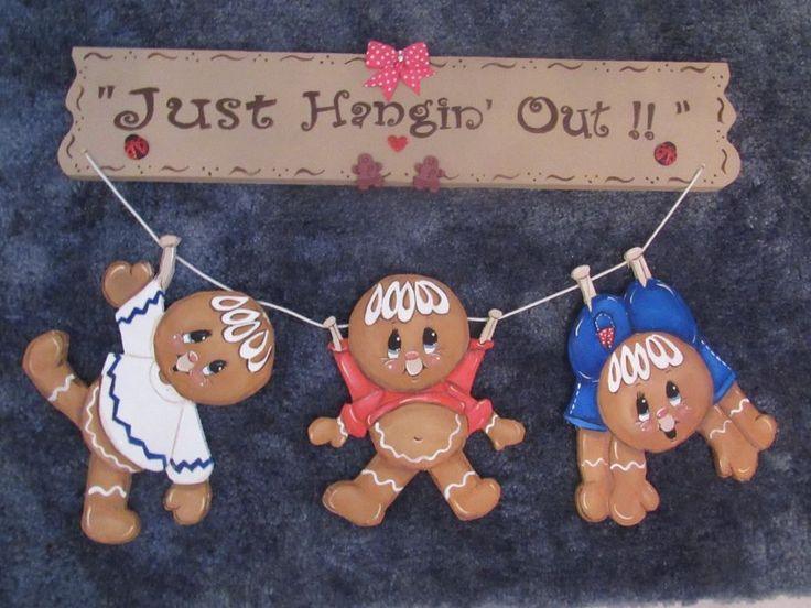 HP GINGERBREAD ~ JUST HANGIN' OUT!!