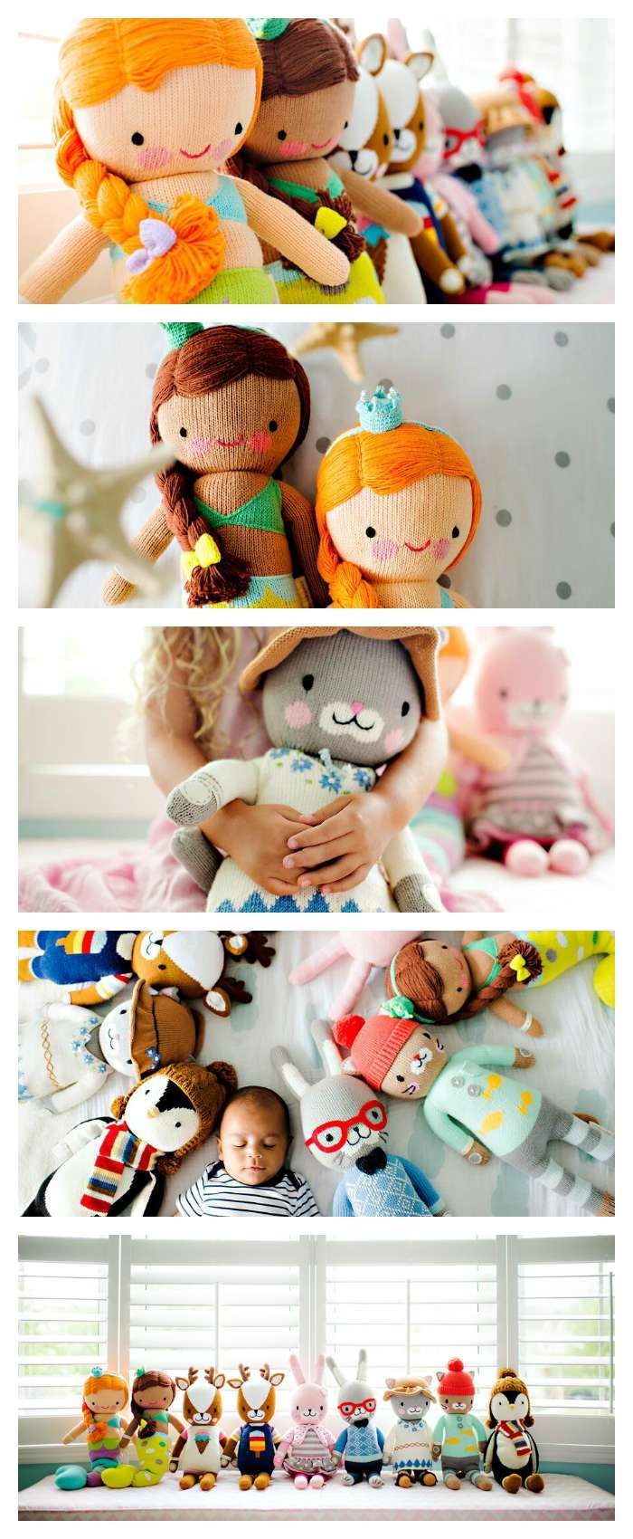 These adorable handmade dolls make an amazing gift for little boys or little girls - and every doll provides 10 meals for hungry kids. Awesome way to give a gift and give back at the same time. My kids are obsessed with these dolls. Such a great gift idea. LOVE
