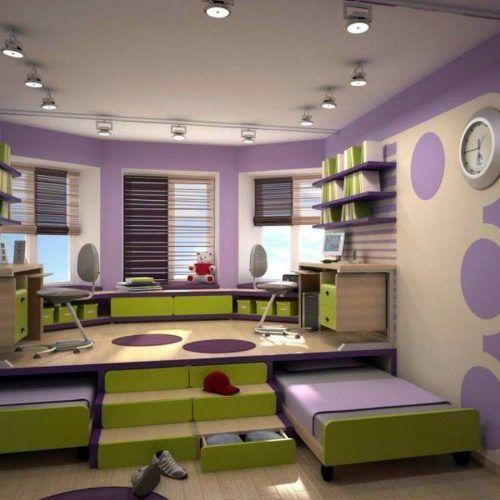 4-Oval Çocuk Odası