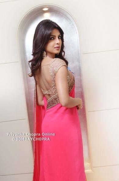 priyanka chopra #saree #sari #blouse #indian #hp #outfit #shaadi #bridal #fashion #style #desi #designer #wedding #gorgeous #beautiful