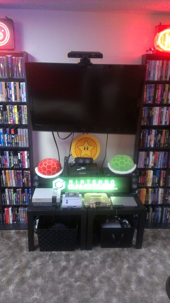 Nintendo Home Setup Gaming And Video Game Rooms
