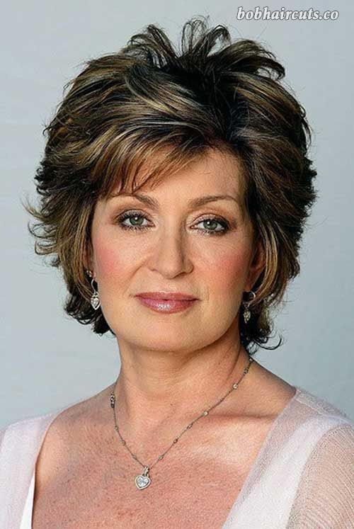 30 Nice Short Haircuts For Women Over 50 - 10 #ShortBobs