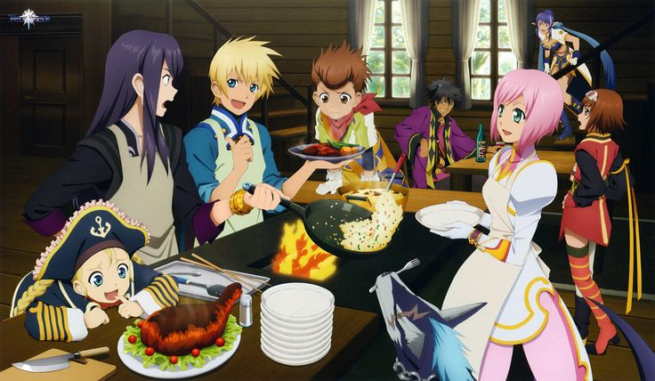 Tales of Vesperia Making Lunch