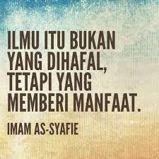 Image result for quotes imam syafi'i