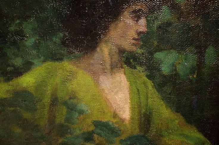Ferenczy Károly: Ábrahám Áldozata, részlet, 1901, olaj, vászon, 143,5x167,5 cm