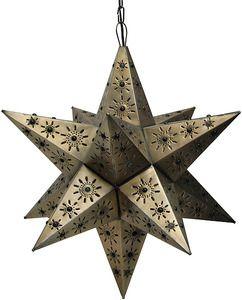 """Tin Star Lamp """"Sinaloa"""""""