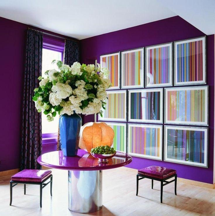 Яркие обои для квартиры. 50 вариантов - Сундук идей для вашего дома - интерьеры, дома, дизайнерские вещи для дома