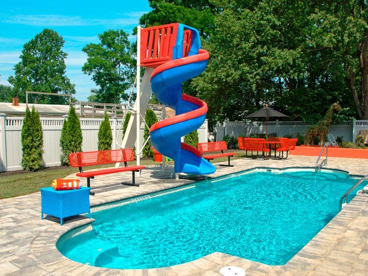 Fiberglass Swimming Pool Designs With Good Montego Medium Inground Viking Collection