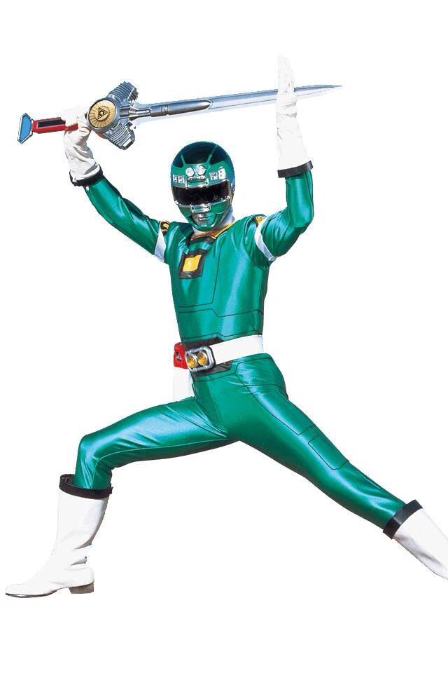 Power Rangers Turbo - Green Ranger