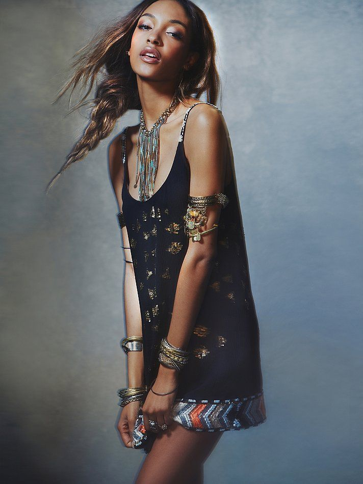 Free People Festival Sequin Shift, $280.00
