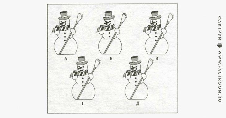 Невероятная головоломка про снеговиков, ответ на которую сильно удивит вас!