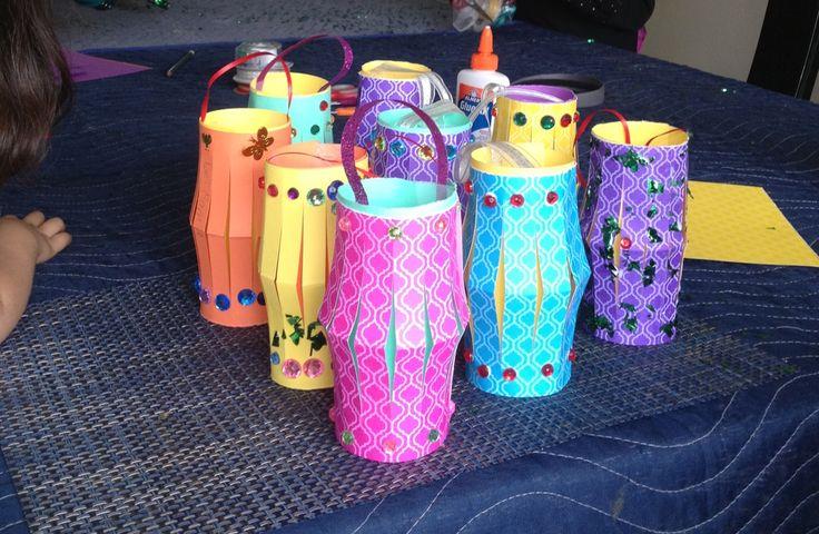 ramadan craft lanterns fanoos islamic pinterest. Black Bedroom Furniture Sets. Home Design Ideas
