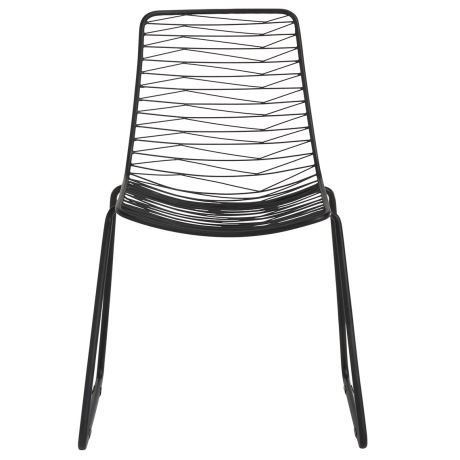 Smarten up your dining area; the Encore dining chair has serious style game. This iron chair is completed in a dark matte finish and has hints of industrial chic in its fine-lined silhouette. Smart design gives it a punchy look, plus it's handmade. Encore's refined style is just the thing in both large and small areas, as it has a permeable frame, which allows light and air to circulate. If you want to up the comfort factor, just add a futon to its seat, but it has such a smart look that…