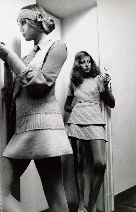 Vogue Italia 1970 Jane Hitchcock Charlotte Photo By Barry Lategan