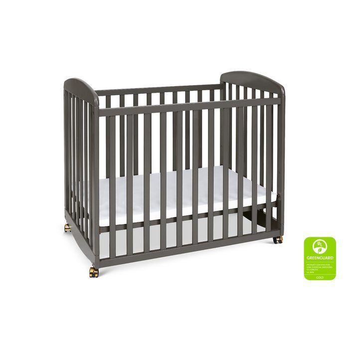 Davinci Alpha Mini Convertible Portable Crib Reviews Wayfair Portable Crib Cribs Mini Convertible