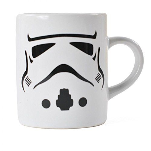 Tasse à Expresso Star Wars Stormtrooper: En céramique. Verso : «The last thing I feel like Dealing with Today is a Jedi». Micro-ondes et…